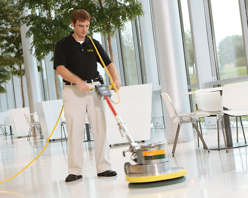 commercial floor care and cleaning